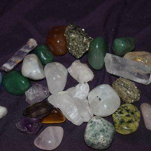 Multi 25 crystal Lot